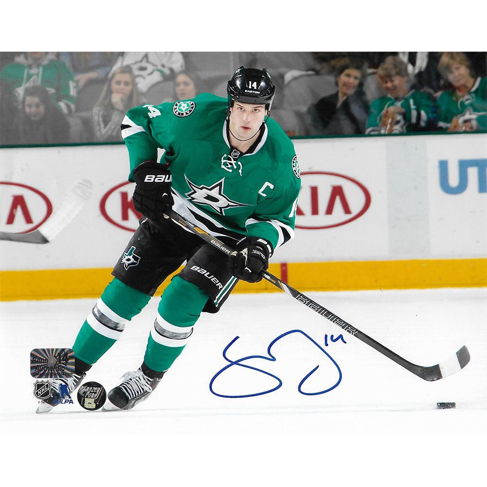 Jamie Benn Autographed Dallas Stars 8X10 Photo