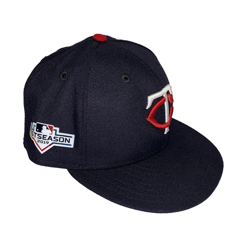 Photo of Minnesota Twins 2019 Road Postseason Navy Caps - Choose Your Player and Size!