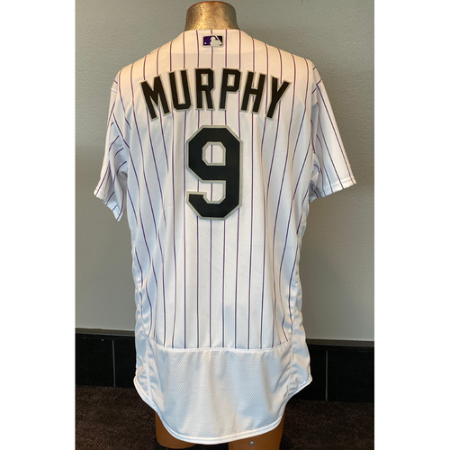 Photo of Colorado Rockies Team-Issued 2020 Home Opener Jersey: Daniel Murphy