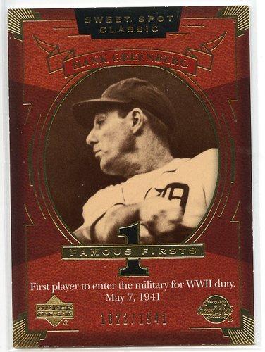Photo of 2004 Sweet Spot Classic #109 Hank Greenberg FF/1941
