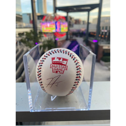 Photo of Freddie Freeman MLB Authenticated Autographed 2014 MLB All Star Game Stamped Baseball