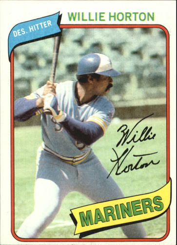 Photo of 1980 Topps #532 Willie Horton