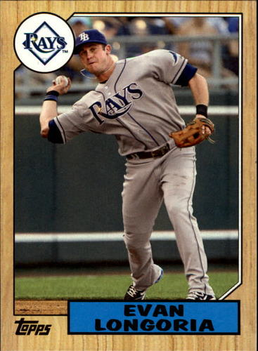 Photo of 2012 Topps 1987 Topps Minis #TM20 Evan Longoria