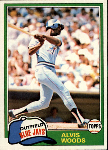 Photo of 1981 Topps #703 Alvis Woods