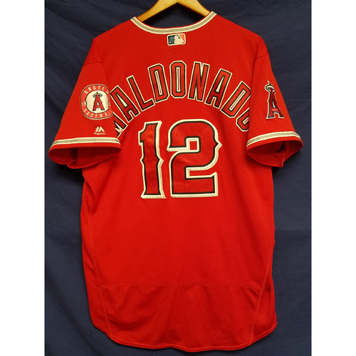 Photo of Martin Maldonado Alternate Red Team-Issued Jersey