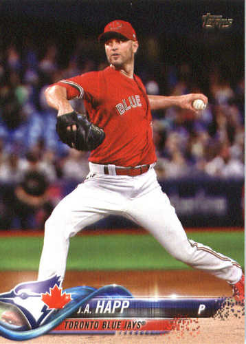Photo of 2018 Topps #213 J.A. Happ