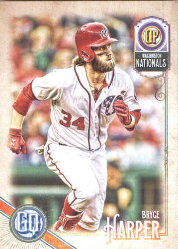Photo of 2018 Topps Gypsy Queen #50 Bryce Harper