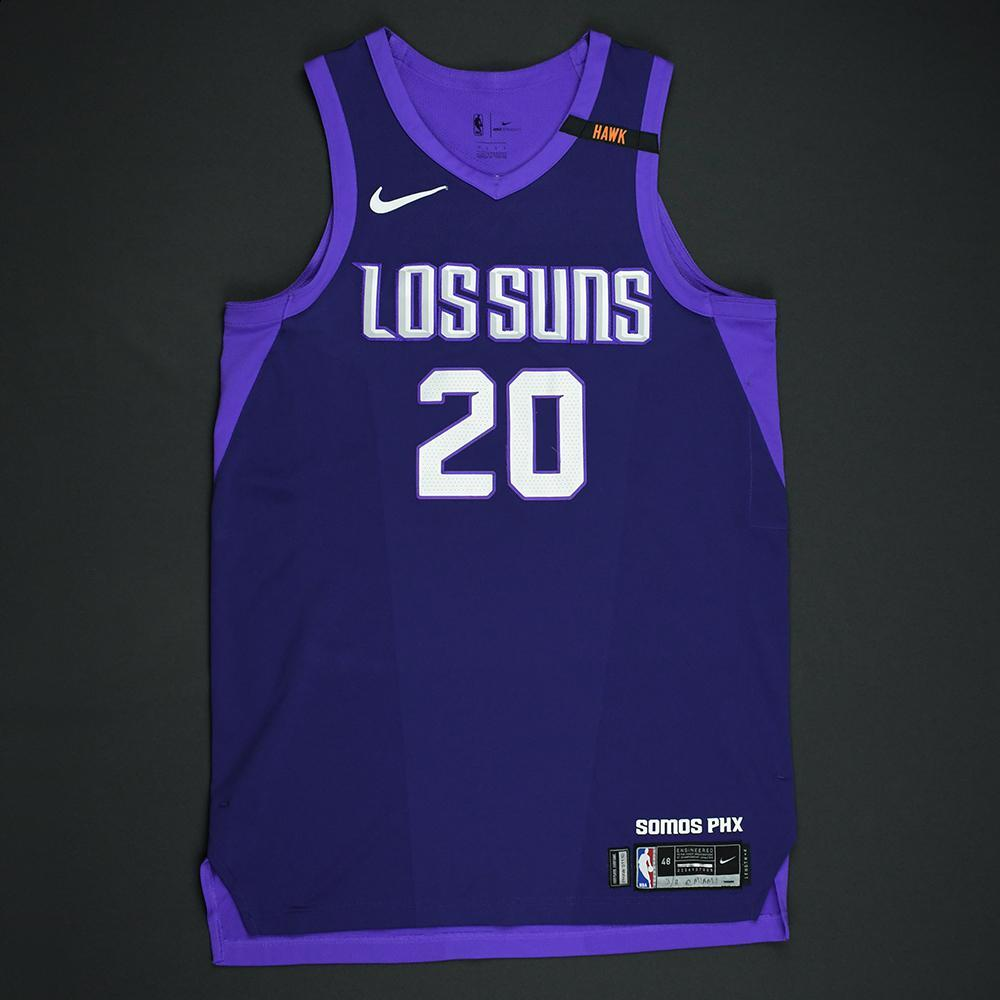 Josh Jackson - Phoenix Suns - Game-Worn 'Los Suns' City Jersey - 2017-18 Season - Worn in 5 Games