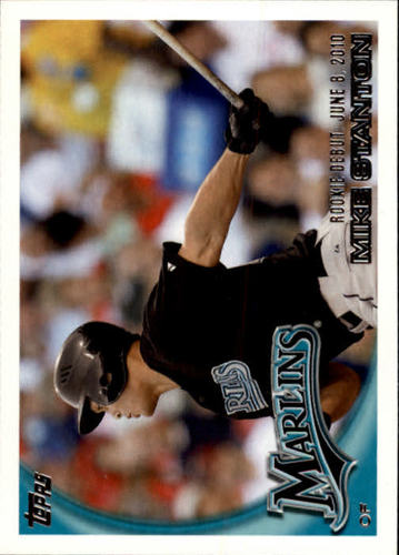 Photo of 2010 Topps Update #US327 Mike Stanton Rookie Card