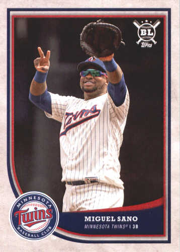 Photo of 2018 Topps Big League #198 Miguel Sano