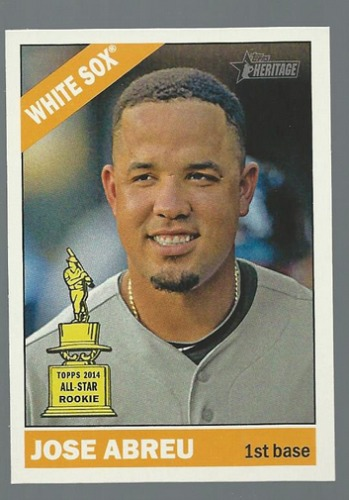 Photo of 2015 Topps Heritage #25A Jose Abreu