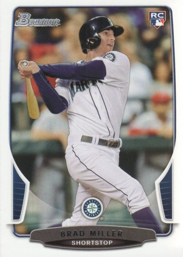 Photo of 2013 Bowman Draft #29 Brad Miller RC