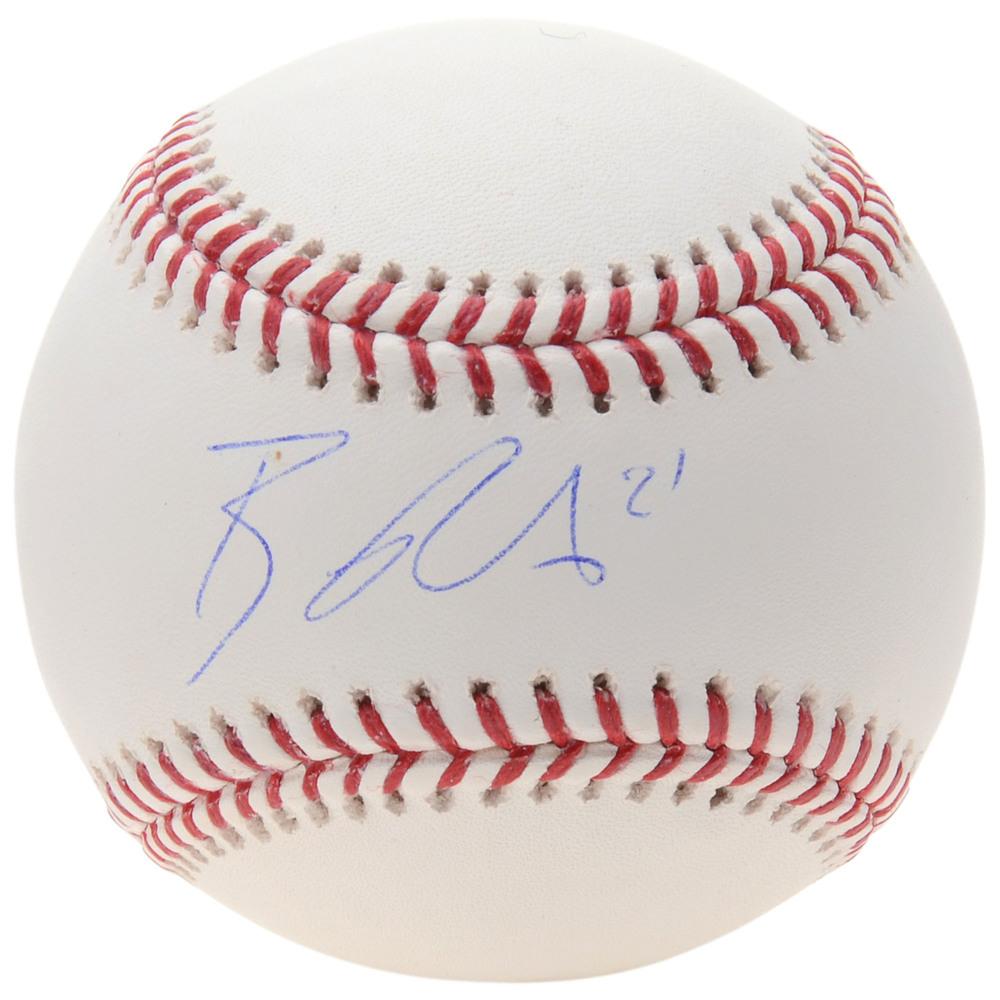 Brayden Point Tampa Bay Lightning Autographed Baseball