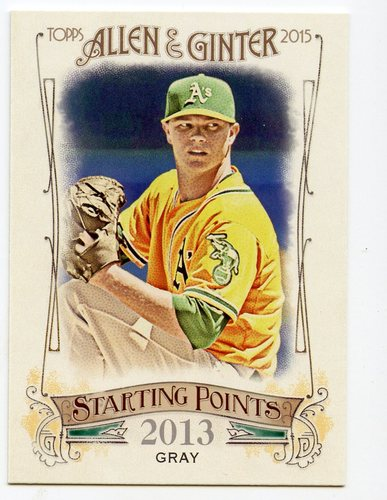 Photo of 2015 Topps Allen and Ginter Starting Points #SP63 Sonny Gray