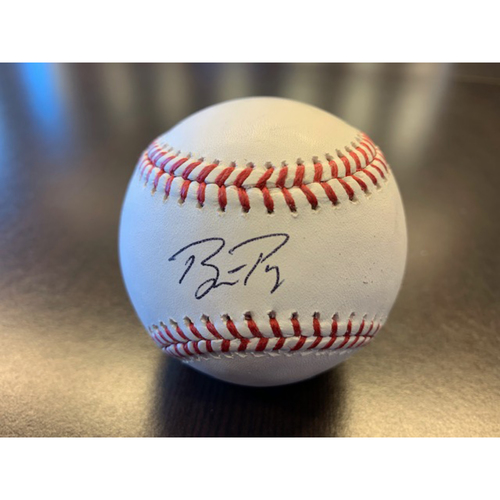 Giants Wives Auction: Buster Posey Autographed Baseball