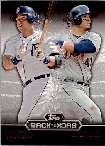 Photo of 2016 Topps Back to Back #B2B10 Victor Martinez/Miguel Cabrera