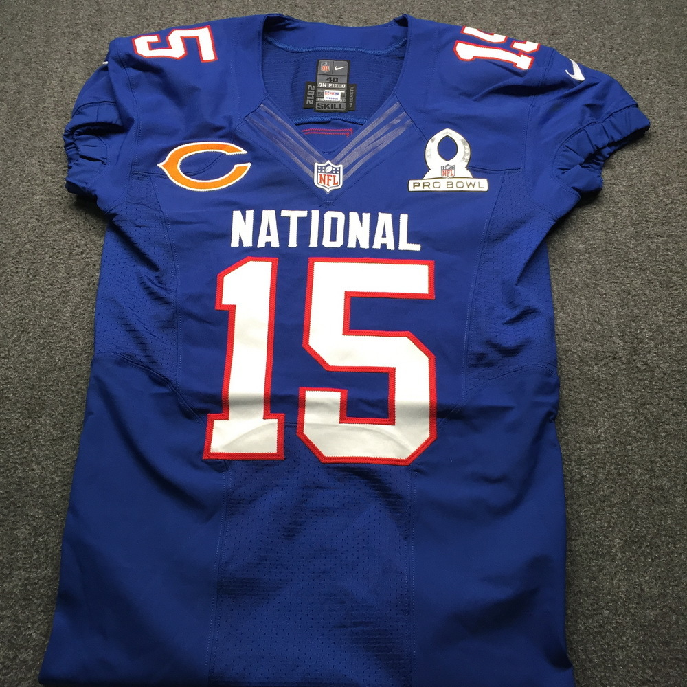 NFL Auction   NFL - Bears Brandon Marshall Game Issued Pro Bowl ...