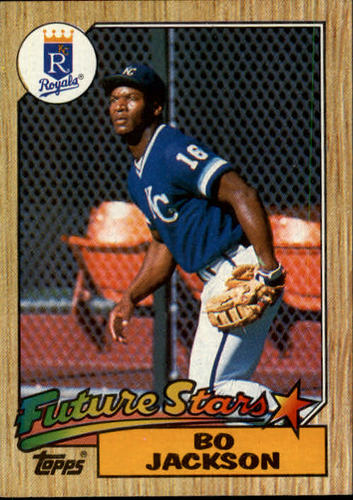 Photo of 1987 Topps #170 Bo Jackson RC