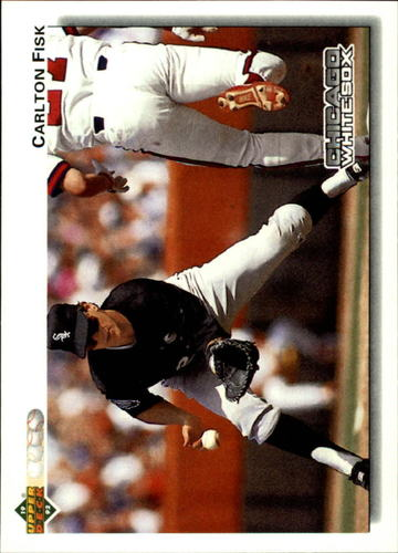 Photo of 1992 Upper Deck #571 Carlton Fisk
