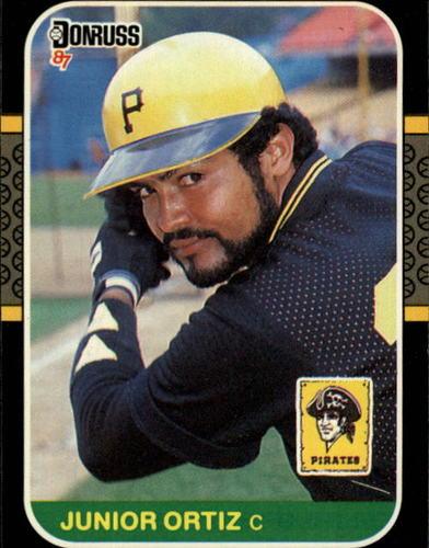 Photo of 1987 Donruss #449 Junior Ortiz