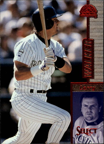 Photo of 1997 Select #97 Larry Walker R