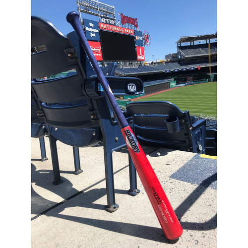 Photo of Juan Soto Autographed Old Hickory Game Model Players Weekend Bat
