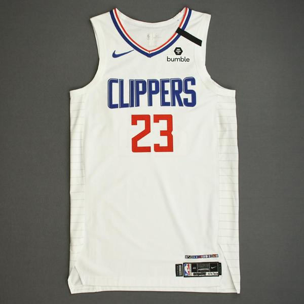 Image of Lou Williams - Los Angeles Clippers - Game-Worn Association Edition Jersey - 2019-20 NBA Season