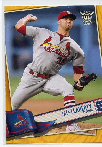 Photo of 2019 Topps Big League Gold #295 Jack Flaherty