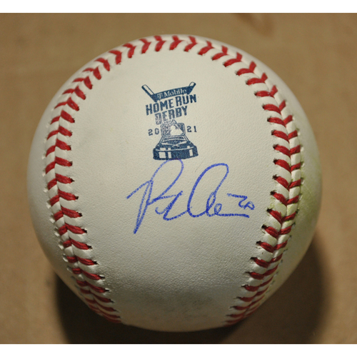 Photo of MLB Players Youth Development Foundation: 2021 T-Mobile Home Run Derby Used & Autographed Baseball - Pete Alonso, Round 1 Out