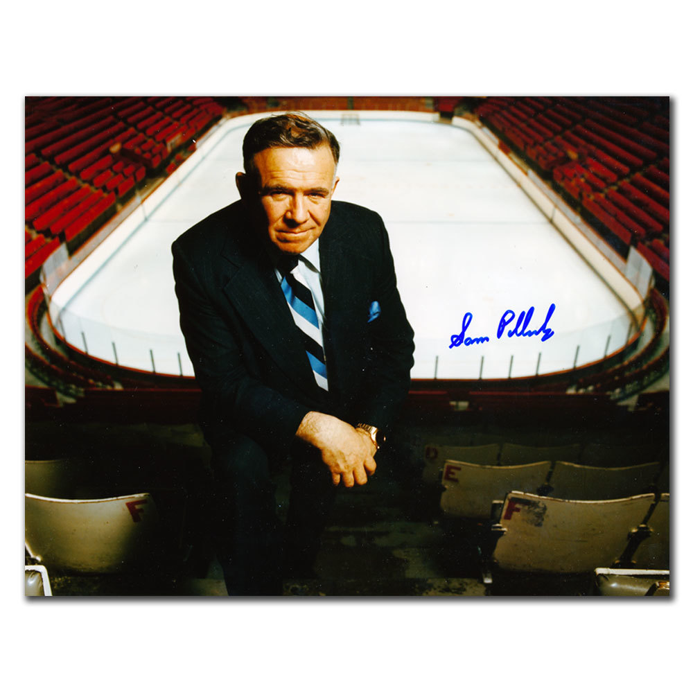 Sam Pollack Montreal Canadiens Autographed 8x10