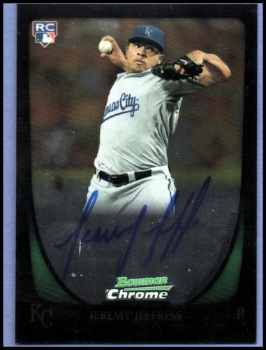 Photo of 2011 Bowman Chrome Rookie Autographs #195 Jeremy Jeffress