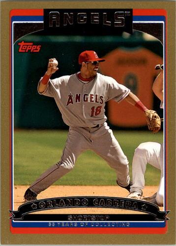 Photo of 2006 Topps Gold #332 Orlando Cabrera