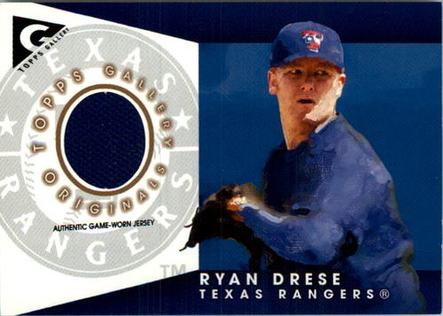 Photo of 2005 Topps Gallery Originals Relics #RD Ryan Drese Jsy