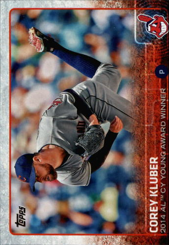 Photo of 2015 Topps #487A Corey Kluber AW