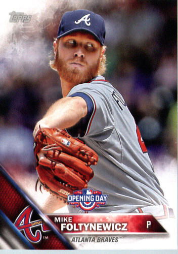 Photo of 2016 Topps Opening Day #OD118 Mike Foltynewicz
