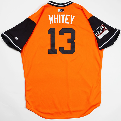 "Photo of Tyler ""Whitey"" White Houston Astros Game-Used 2018 Players' Weekend Jersey"