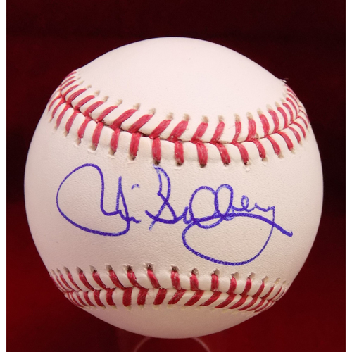 Photo of Jim Sundberg Autographed Baseball