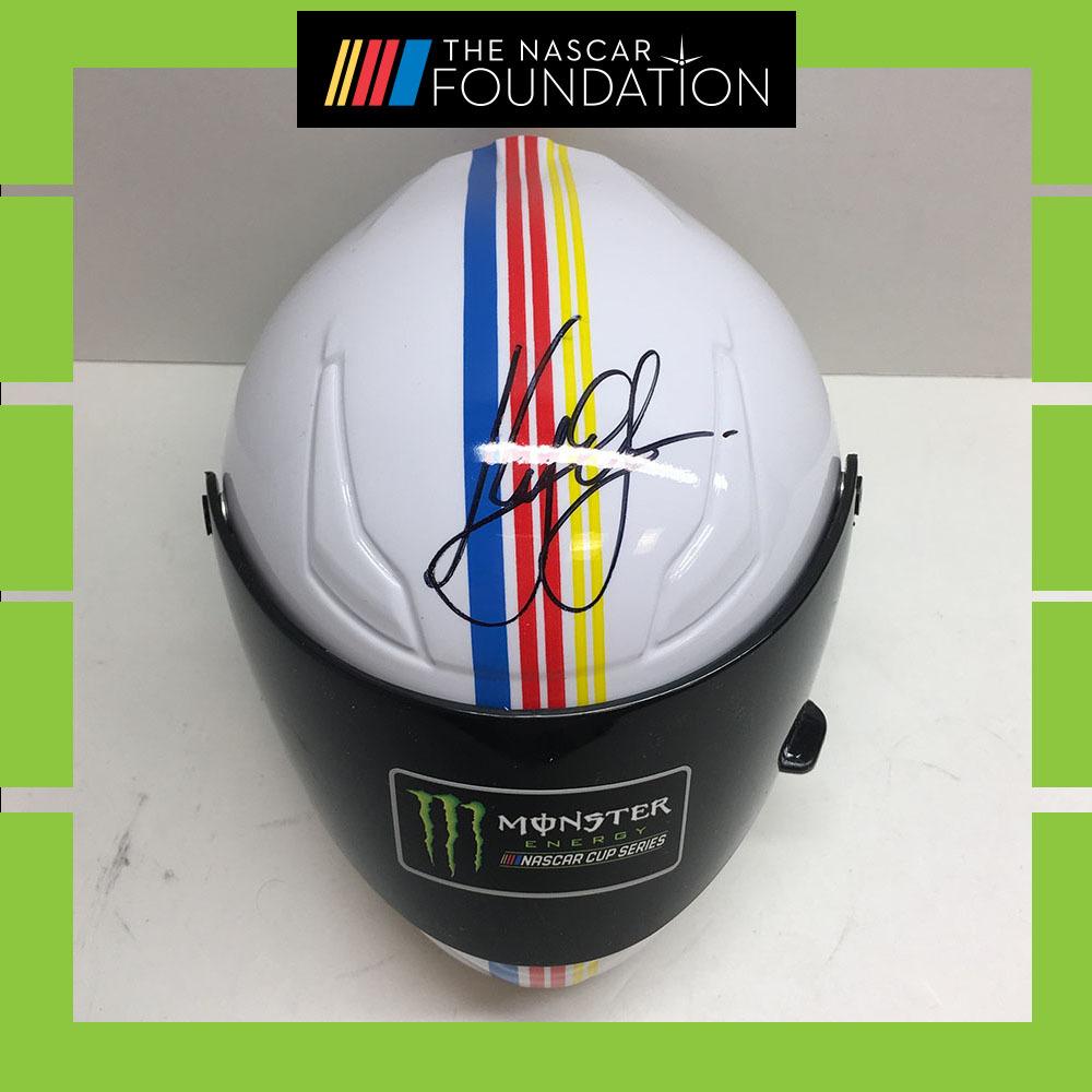 NASCAR's Kyle Larson Autographed Mini-Helmet!