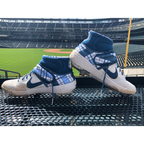 Photo of Colorado Rockies Foundation Game-Used Father's Day Cleats - Trevor Story - June 16th, 2019 vs. Padres