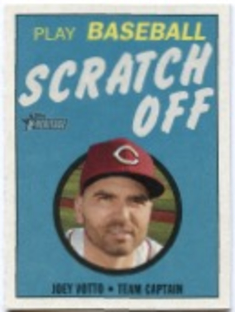2019 Topps Heritage '70 Topps Scratch Offs #24 Joey Votto