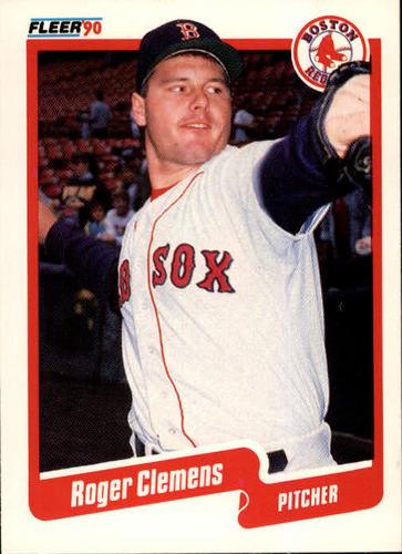 Photo of 1990 Fleer #271 Roger Clemens