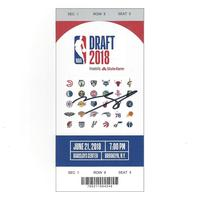 Mohamed Bamba - Orlando Magic - 2018 NBA Draft - Autographed Draft Ticket