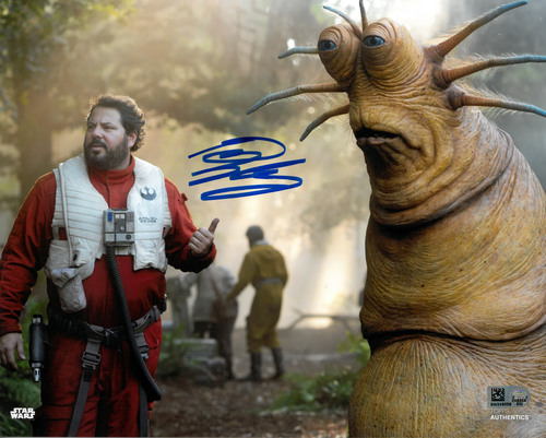 Greg Grunberg As Snap Wexley 8X10 AUTOGRAPHED IN 'Blue' INK PHOTO