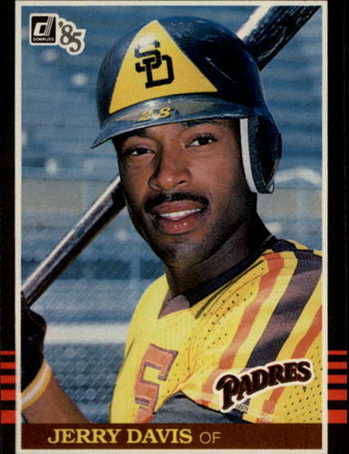 Photo of 1985 Donruss #162 Jerry Davis
