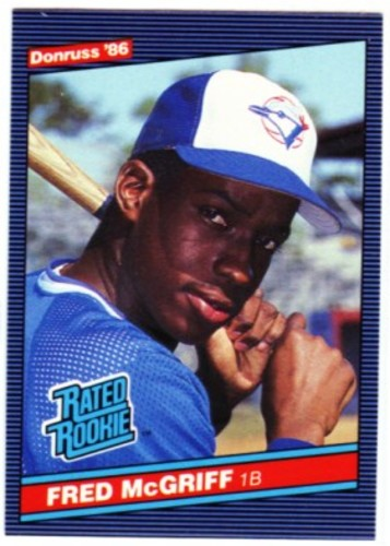 Photo of 1986 Donruss #28 Fred McGriff RC