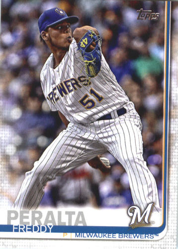 Photo of 2019 Topps #627 Freddy Peralta