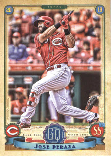 Photo of 2019 Topps Gypsy Queen #12 Jose Peraza