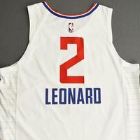Kawhi Leonard - Los Angeles Clippers - Game-Worn Association Edition Jersey - Worn 2 Games - Scored 28 and 24 Points - 2019-20 NBA Season Restart