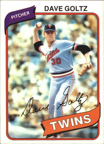 Photo of 1980 Topps #193 Dave Goltz