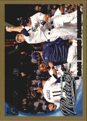Photo of 2010 Topps Gold Border #167 San Diego Padres